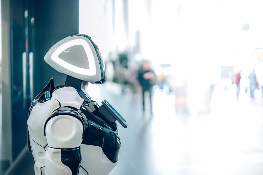 robot asistente virtual